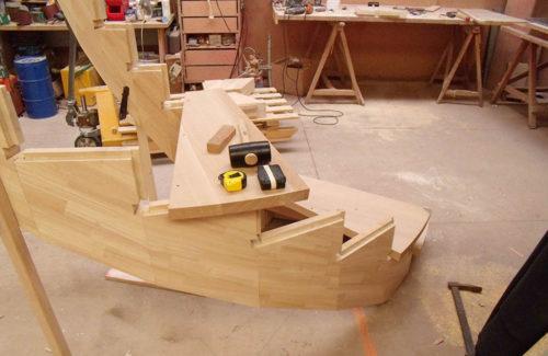 Fabrication escaliers